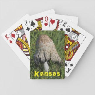 Kansas-Pilz-Spielkarten Pokerdeck