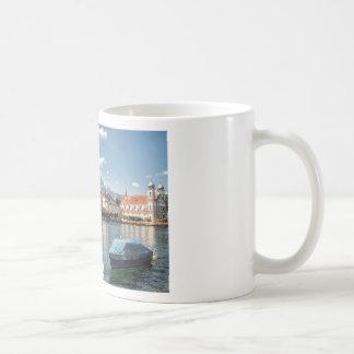Kapellen-Brücken-Luzerne, die Schweiz Kaffeetasse