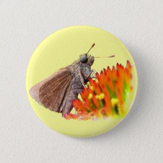 Kapitän auf Echinacea Runder Button 5,7 Cm