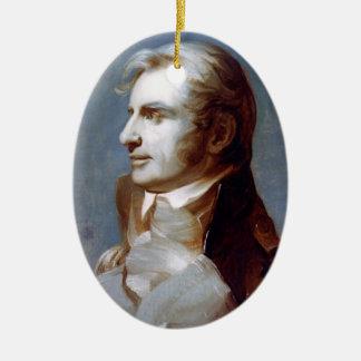 Kapitän Charles Stewart Keramik Ornament