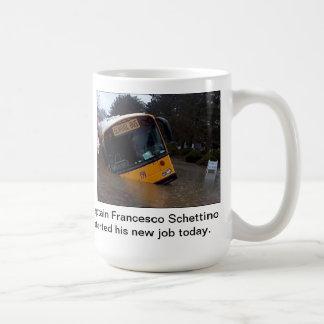Kapitän Francesco Schettino Mug Kaffeetasse