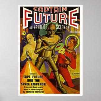 Kapitän Future und der Raum-Kaiser Poster
