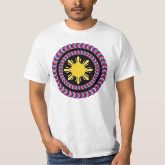 kapitan pilipinas, die Schildillusion drehen T-Shirt