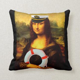 Kapitän zur See Mona Lisa Kissen