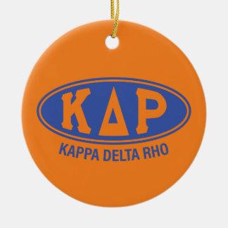 Kappa-DeltaRho | Vintag Keramik Ornament