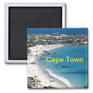 Kapstadt-Magnet Quadratischer Magnet
