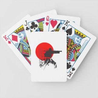 Karate Japan Bicycle Spielkarten