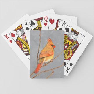 Kardinal auf Niederlassung Spielkarten