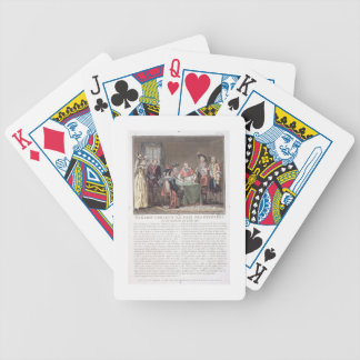 Kardinal Mazarin (1602-61) schließt den Frieden vo Poker Karten