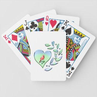 Kardinals-Liebhaber Bicycle Spielkarten