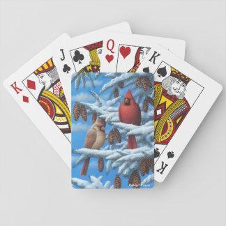 Kardinals-Spielkarten Kartendeck