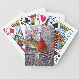 Kardinals-Wald Poker Karten