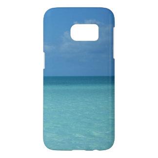 Karibischer Horizont-tropisches Türkis-Blau