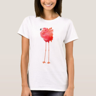 Karibischer rosa Flamingo T-Shirt
