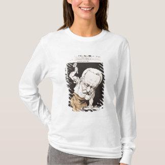 Karikatur von Victor Hugo T-Shirt