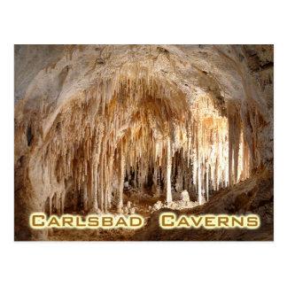 Karlsbad-Höhlen Nationalpark, New Mexiko Postkarte