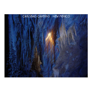 Karlsbad-Höhlen-New Mexiko Postkarte