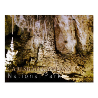 Karlsbad-Höhlen Postkarte