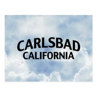 Karlsbad Kalifornien Postkarte