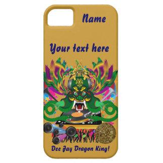 Karneval D.J. Dragon König Ansicht deutet bitte an iPhone 5 Case