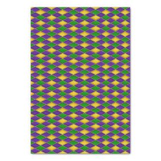 Karneval-Diamant-Harlekin-Druck-Muster Seidenpapier