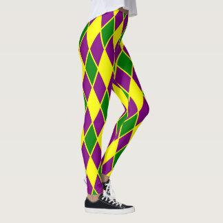 Karneval-Harlekin-Muster-Karneval Leggings