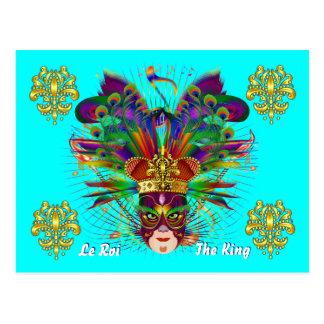 Karneval-Karnevals-Ereignis Postkarte