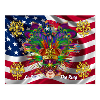 Karneval-Karnevals-Ereignis sehen bitte Postkarte
