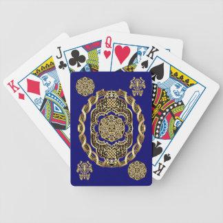 Karneval-Kartenspielen Fahrrad gelesen über Poker Karten