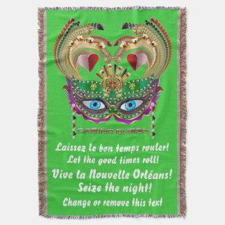 Karneval-Kasino-Königin gelesen über Entwurf unten Decke