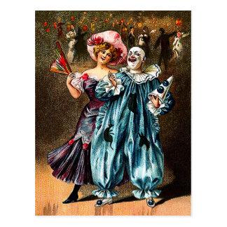Karneval: Lustige Kameraden Postkarte