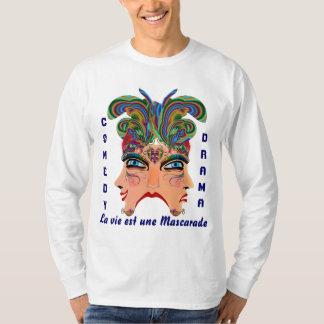 Karneval-Männer beleuchten alle Art-Ansicht über T-Shirt