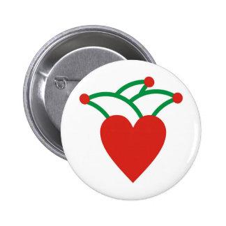 Karneval Runder Button 5,7 Cm