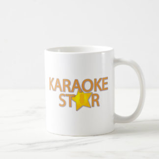 Karoake Stern Kaffeetasse