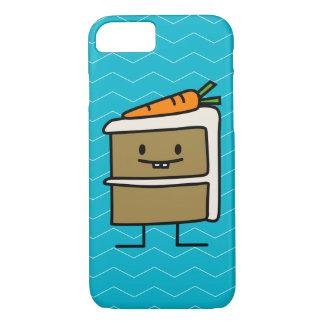 Karottenkuchenscheibe-Häschenzähne, die Nachtisch iPhone 8/7 Hülle