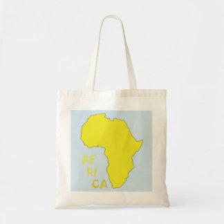 Karte der Afrika-Taschen-Tasche Budget Stoffbeutel