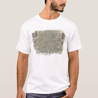 Karte der Berge in Virginia, USA T-Shirt
