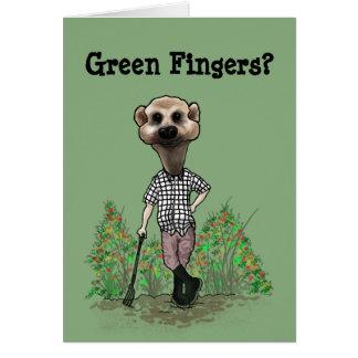 Karte der grünen Finger
