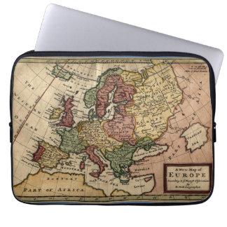 Karte des Antiquarian-1721 von Europa durch Computer Schutzhüllen