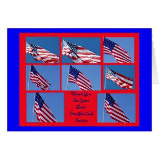 Karte des Veterans Tages