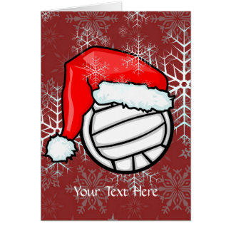Karte - Volleyball-Weihnachten