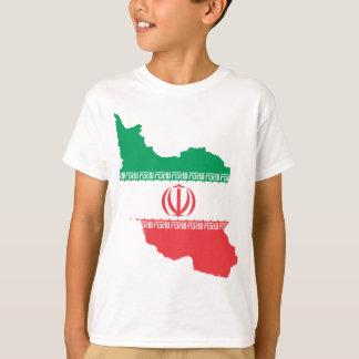 Karte vom Iran T-Shirt