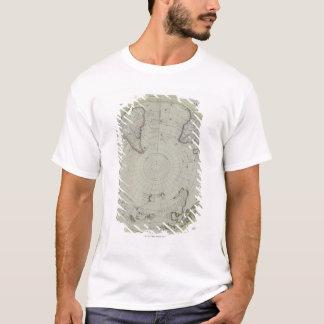 Karte von der Antarktis 2 T-Shirt