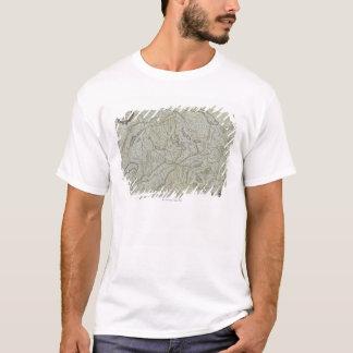 Karte von der Schweiz T-Shirt