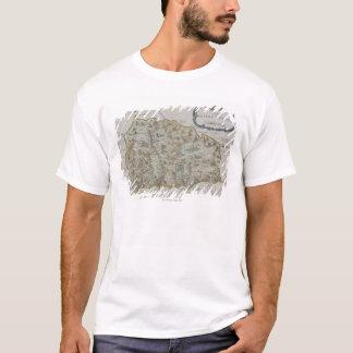 Karte von Insel von St. Helena T-Shirt
