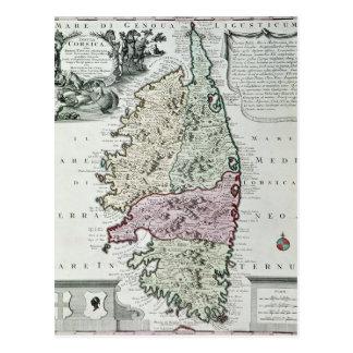 Karte von Korsika