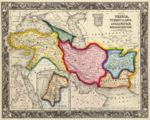 Persien Karte.Persien Poster Zazzle At