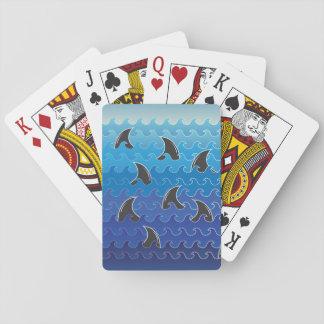 Karten-Haifische (~fin~) Spielkarten