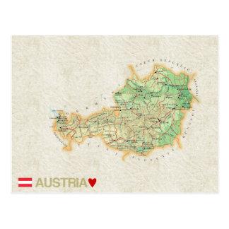 KARTEN-POSTKARTEN ♥ Österreich Postkarte