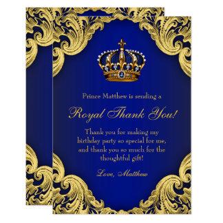 Karten Prinz-Birthday Party Thank You Karte